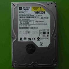 HDD 120GB Western Digital WD1200JB ATA IDE - DEFECT, 100-199 GB, 7200, Western Digital