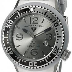 Swiss Legend Men's 21818P-GM-018B Neptune | 100% original, import SUA, 10 zile lucratoare a12107 - Ceas barbatesc Swiss Legend, Quartz