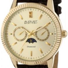 August Steiner Men's AS8051YG Swiss | 100% original, import SUA, 10 zile lucratoare a12107 - Ceas barbatesc August Steiner, Quartz
