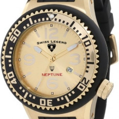 Swiss Legend Men's 21818P-YG-10 Neptune | 100% original, import SUA, 10 zile lucratoare a12107 - Ceas barbatesc Swiss Legend, Quartz