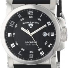 Swiss Legend Men's 40030-01 Sportiva | 100% original, import SUA, 10 zile lucratoare a12107 - Ceas barbatesc Swiss Legend, Quartz