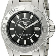 Swiss Legend Men's 9100-11S Grande | 100% original, import SUA, 10 zile lucratoare a12107 - Ceas barbatesc Swiss Legend, Sport, Quartz