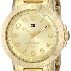 Tommy Hilfiger Women's 1781395 Gold-Plated Watch | 100% original, import SUA, 10 zile lucratoare af22508 - Ceas dama Tommy Hilfiger, Casual, Quartz, Analog