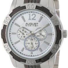 August Steiner Men's AS8058SS Quartz | 100% original, import SUA, 10 zile lucratoare a12107 - Ceas barbatesc