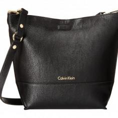 Geanta Calvin Klein Novelty Crossbody | 100% original, import SUA, 10 zile lucratoare z12107 - Geanta Dama Calvin Klein, Geanta de umar, Negru