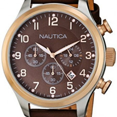 Nautica Men's N17648G BFD 101 | 100% original, import SUA, 10 zile lucratoare a12107 - Ceas barbatesc Nautica, Quartz