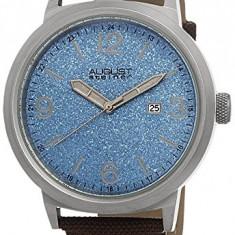 August Steiner Men's AS8088BU Blue | 100% original, import SUA, 10 zile lucratoare a12107 - Ceas barbatesc August Steiner, Casual, Quartz