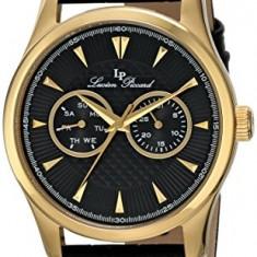 Lucien Piccard Men's LP-12761-YG-01 Stellar | 100% original, import SUA, 10 zile lucratoare a12107 - Ceas barbatesc Lucien Piccard, Elegant, Quartz