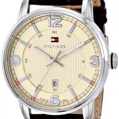 Tommy Hilfiger Men's 1710343 Stainless | 100% original, import SUA, 10 zile lucratoare a12107 - Ceas barbatesc Tommy Hilfiger, Lux - sport, Quartz