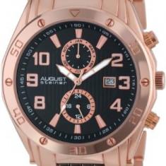 August Steiner Men's AS8070RG Swiss | 100% original, import SUA, 10 zile lucratoare a12107 - Ceas barbatesc August Steiner, Quartz