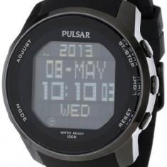 Pulsar Men's PQ2011 Stainless Steel | 100% original, import SUA, 10 zile lucratoare a12107 - Ceas barbatesc Pulsar, Quartz, Otel