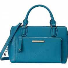 Geanta Nine West Zip and Go Medium Satchel | 100% original, import SUA, 10 zile lucratoare z12107 - Geanta Dama Nine West, Geanta de umar, Turcoaz