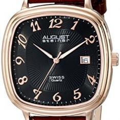 August Steiner Men's AS8155RGBR Analog | 100% original, import SUA, 10 zile lucratoare a12107 - Ceas barbatesc August Steiner, Quartz
