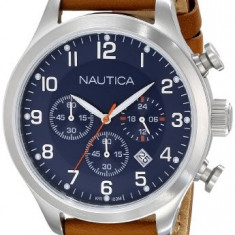 Nautica Men's N14699G BFD 101 | 100% original, import SUA, 10 zile lucratoare a12107 - Ceas barbatesc Nautica, Quartz