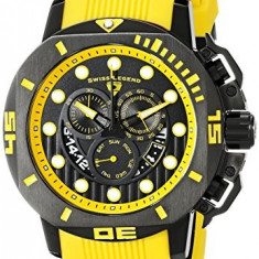 Swiss Legend Men's 10538S-BB-01-YAS Scubador | 100% original, import SUA, 10 zile lucratoare a12107 - Ceas barbatesc Swiss Legend, Sport, Quartz