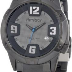 Armitron Men's 204692DGTI Black Ion-Plated | 100% original, import SUA, 10 zile lucratoare a12107 - Ceas barbatesc Armitron, Quartz