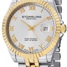 Stuhrling Original Men's 599G 04 | 100% original, import SUA, 10 zile lucratoare a12107 - Ceas barbatesc Stuhrling, Quartz