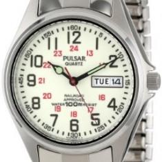 Pulsar Men's PXN021 Watch | 100% original, import SUA, 10 zile lucratoare a12107 - Ceas barbatesc Pulsar, Quartz