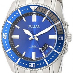 Pulsar Men's PS9319 Analog Display | 100% original, import SUA, 10 zile lucratoare a12107 - Ceas barbatesc Pulsar, Quartz