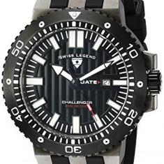 Swiss Legend Men's 10126-GM-01-BB Challenger | 100% original, import SUA, 10 zile lucratoare a42707 - Ceas barbatesc Swiss Legend, Quartz