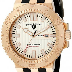 Swiss Legend Men's 10126-RG-02S Challenger | 100% original, import SUA, 10 zile lucratoare a12107 - Ceas barbatesc Swiss Legend, Quartz