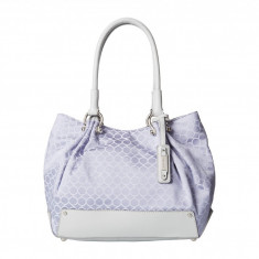 Geanta Nine West Mini 9S Sateen Large Tote | 100% original, import SUA, 10 zile lucratoare z12107 - Geanta Dama Nine West, Geanta de umar, Lila