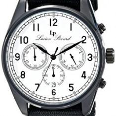 Lucien Piccard Men's LP-10588N-BB-02-BLK Moderna | 100% original, import SUA, 10 zile lucratoare a12107 - Ceas barbatesc Lucien Piccard, Quartz
