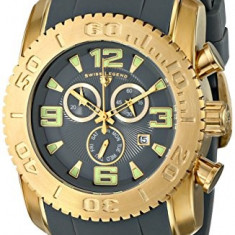 Swiss Legend Men's 10067-YG-014 Commander | 100% original, import SUA, 10 zile lucratoare a12107 - Ceas barbatesc Swiss Legend, Fashion, Quartz