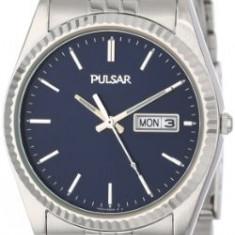 Pulsar Men's PXF277 Dress Silver-Tone | 100% original, import SUA, 10 zile lucratoare a12107 - Ceas barbatesc Pulsar, Quartz