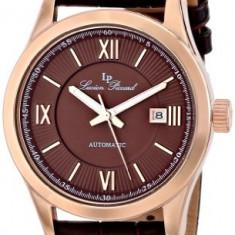 Lucien Piccard Men's LP-12392-RG-04 Meuse | 100% original, import SUA, 10 zile lucratoare a12107 - Ceas barbatesc Lucien Piccard, Elegant, Mecanic-Automatic