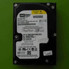 HDD 200GB Western Digital WD2000 SATA - DEFECT - Hard Disk Western Digital, 200-499 GB, Rotatii: 7200, 8 MB