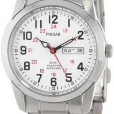 Pulsar Men's PJ6007 Dress Watch | 100% original, import SUA, 10 zile lucratoare a12107 - Ceas barbatesc Pulsar, Quartz