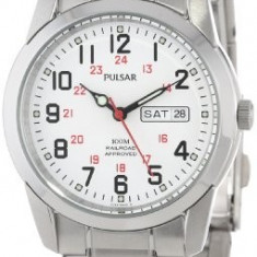 Pulsar Men's PJ6007 Dress Watch | 100% original, import SUA, 10 zile lucratoare a12107 - Ceas barbatesc Pulsar, Quartz