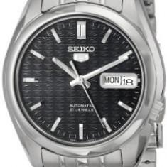 Seiko Men's SNK357 Automatic Stainless | 100% original, import SUA, 10 zile lucratoare a12107 - Ceas barbatesc Seiko, Mecanic-Automatic