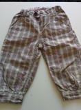 Pantalonasi treisferturi, carouri, 116 cm, 4-6 ani, H&M. COMANDA MINIMA 30 lei!, Fete