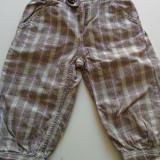 Pantalonasi treisferturi, carouri, 116 cm, 4-6 ani, H&M. COMANDA MINIMA 30 lei!
