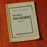 Carte - Polcomnicul Ioan Solomon - amintiri - Craiova 1935 - 46 pagini - Roman