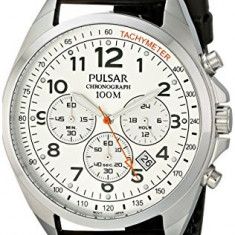 Pulsar Men's PT3419X Analog Display | 100% original, import SUA, 10 zile lucratoare a12107 - Ceas barbatesc Pulsar, Casual, Quartz