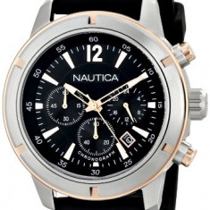 Nautica Men's N17654G Analog Display | 100% original, import SUA, 10 zile lucratoare a12107 - Ceas barbatesc Nautica, Quartz