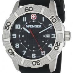Wenger Roadster Stainless Steel Watch | 100% original, import SUA, 10 zile lucratoare a12107 - Ceas barbatesc Wenger, Quartz, Otel