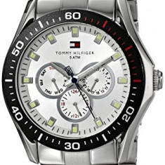 Tommy Hilfiger Men's 1790606 Multi-Function | 100% original, import SUA, 10 zile lucratoare a12107 - Ceas barbatesc Tommy Hilfiger, Lux - sport, Quartz