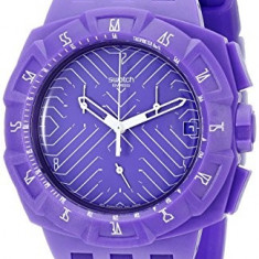Swatch Men's SUIV401 Purple Run | 100% original, import SUA, 10 zile lucratoare a12107 - Ceas barbatesc Swatch, Quartz