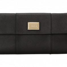 Geanta Calvin Klein Saffiano Clutch   100% original, import SUA, 10 zile lucratoare z12107 - Geanta Dama Calvin Klein, Geanta de umar, Negru