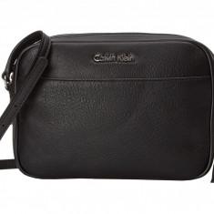 Geanta Calvin Klein Pebble Crossbody | 100% original, import SUA, 10 zile lucratoare z12107 - Geanta Dama Calvin Klein, Geanta de umar, Negru