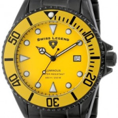 Swiss Legend Men's 21344-BB-77-YB Luminous | 100% original, import SUA, 10 zile lucratoare a12107 - Ceas barbatesc Swiss Legend, Quartz