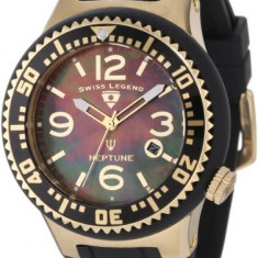 Swiss Legend Men's 21848P-YG-01-MOP Neptune | 100% original, import SUA, 10 zile lucratoare a12107 - Ceas barbatesc Swiss Legend, Quartz