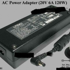 Incarcator original laptop Acer Aspire seria 9920 Liteon Pa-1121-01 20V 6A 120W - Incarcator Laptop Acer, Incarcator standard