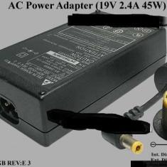 Incarcator original laptop Acer Delta ADP-45GB rev E 19V 2.4A 45W, Incarcator standard