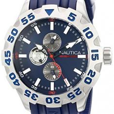 Nautica Men's N15578G BFD 100 | 100% original, import SUA, 10 zile lucratoare a12107 - Ceas barbatesc Nautica, Lux - sport