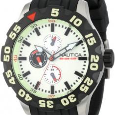 Nautica Men's N16509G BFD 100 | 100% original, import SUA, 10 zile lucratoare a12107 - Ceas barbatesc Nautica, Quartz